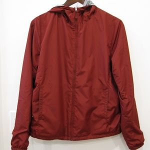 Uniqlo Reversible Women's Light Jacket Red/Gray